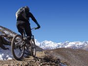 mustang trip, cost way to mustang annapurna circuit, mountain bike pokhara to mustang, flight mustang motor bike kathmandu to mustang, upper mustang tour package